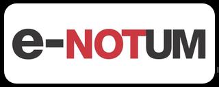Logotip e-NOTUM
