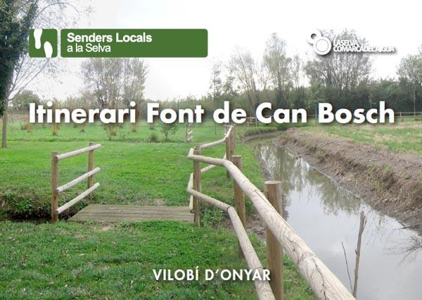 Itinerari Font de Can Bosch