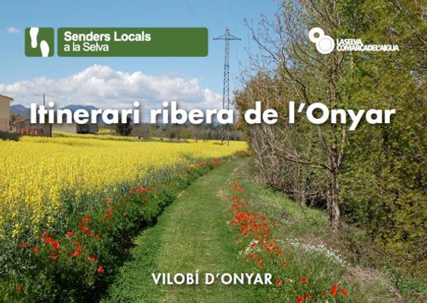 Itinerari ribera de l'Onyar