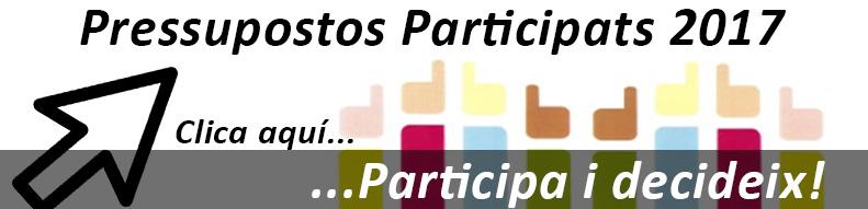 Pressupostos Participats 2017 | Ajuntament de Vilobí d'Onyar