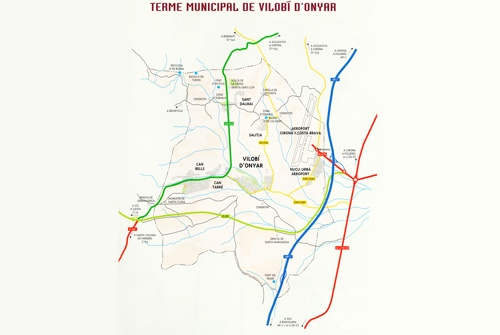 Plànol Terme Municipal