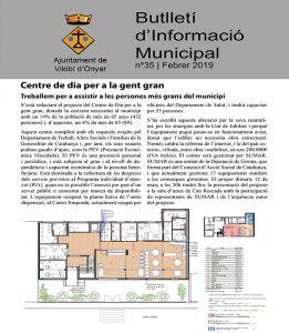 Butlletí d'Informació Municipal 35 - Vilobí d'Onyar