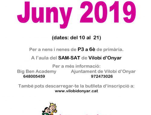 Inscripcions al Casalet SAM-SAT 2019