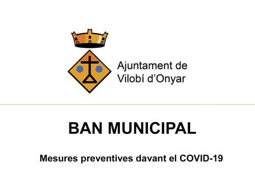Actualizació de les mesures del COVID-19